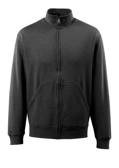 MASCOT® Lavit Sweatshirt mit Reißverschluss Größe 4XL, schwarz