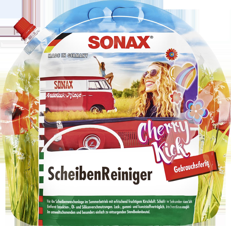 SONAX 03924410  ScheibenReiniger gebrauchsfertig Cherry Kick 3 l