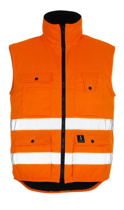 MASCOT® Sölden Winterweste Größe L, hi-vis orange