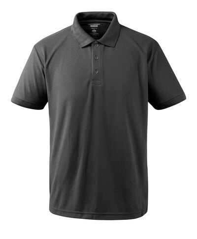 Polo-Shirt CoolDry Polo-shirt Größe 4XL, dunkelanthrazit