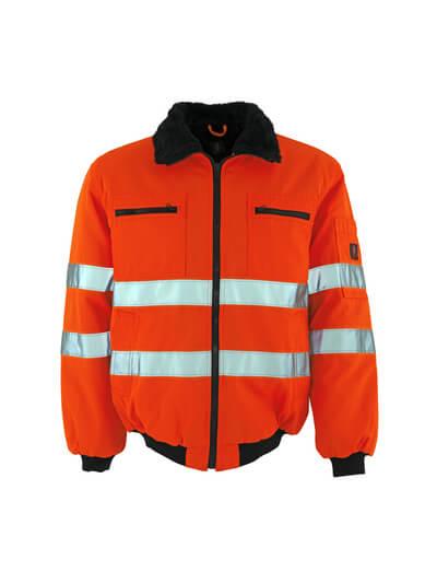 MASCOT® Alaska Pilotjacke Größe 2XL, hi-vis orange
