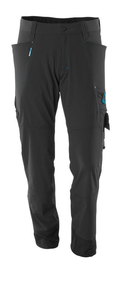 Hose, Stretchstoff, geringes Gewicht Hose Größe 76C56, schwarz
