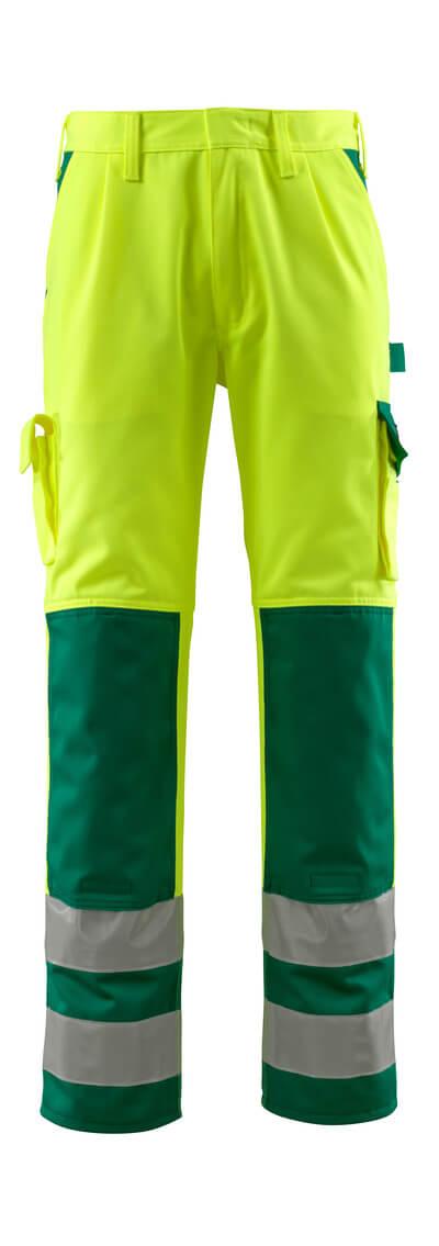 MASCOT® Olinda Hose Größe 82C54, hi-vis gelb/grün