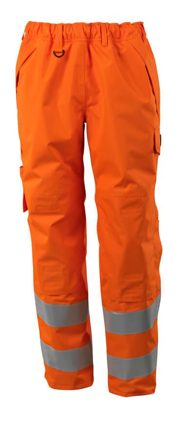 Überziehhose mit Knietaschen Überziehhose Größe 2XL, hi-vis orange