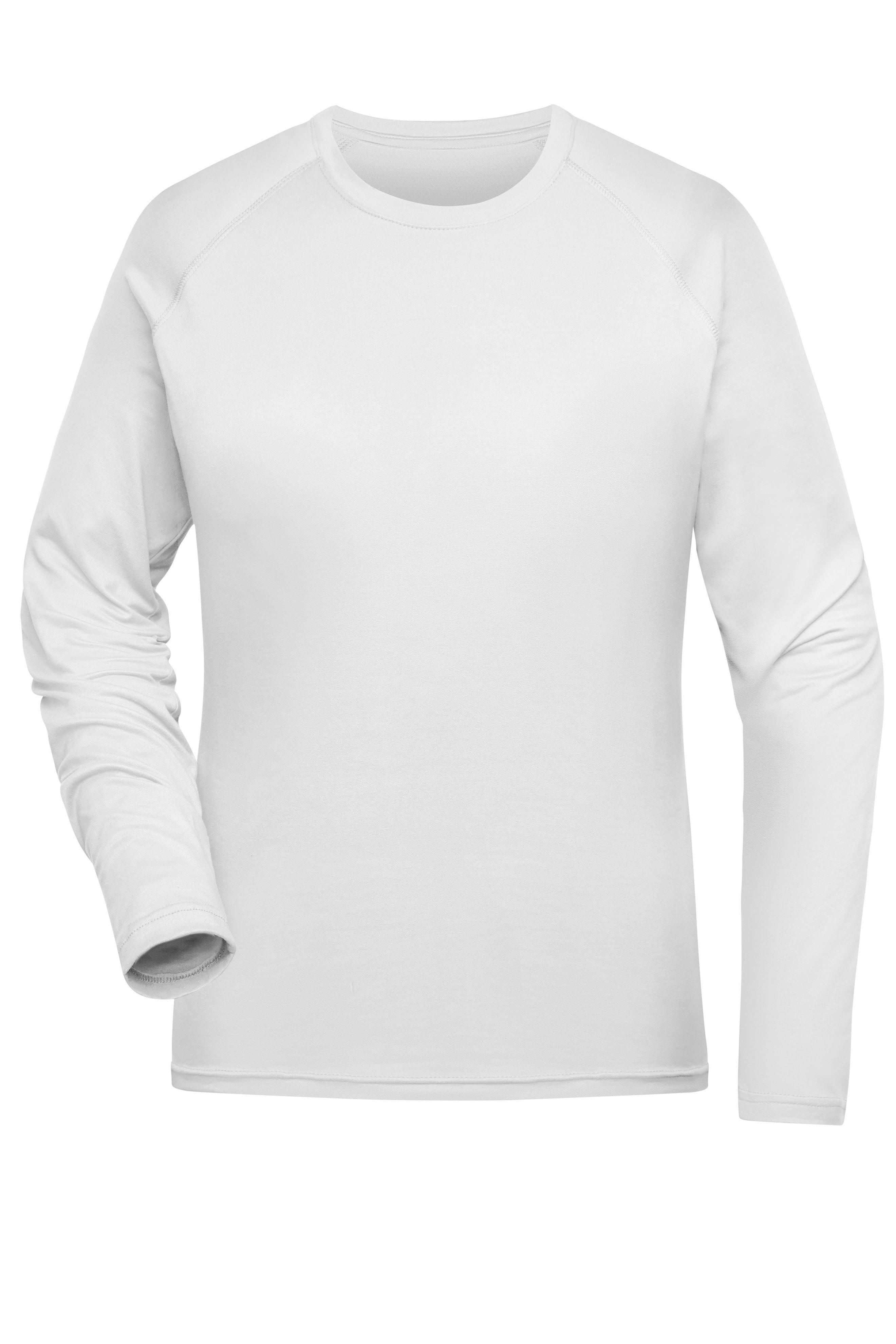 Langarm Funktions-Shirt aus recyceltem Polyester für Sport und Fitness