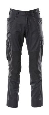 Hose mit Knietaschen, extra leicht Hose Größe 90C50, schwarz