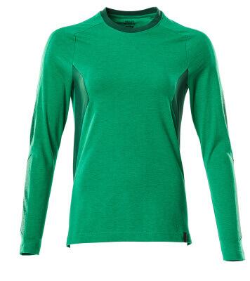 T-Shirt, Langarm, Damen T-shirt Größe L ONE, grasgrün/grün