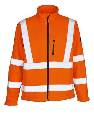 MASCOT® Calgary Soft Shell Jacke Größe 4XL, hi-vis orange