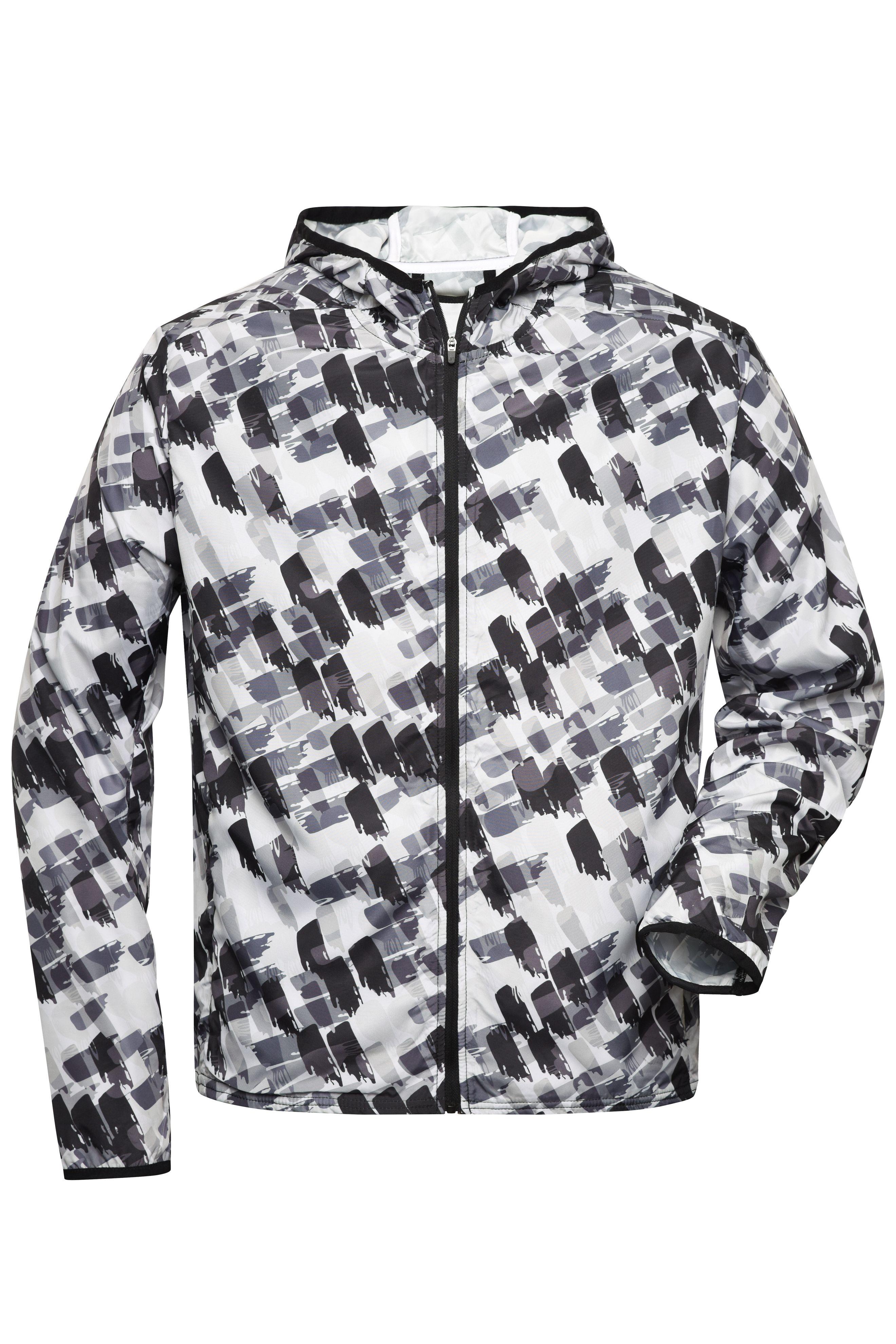 Leichte Jacke aus recyceltem Polyester für Sport und Freizeit