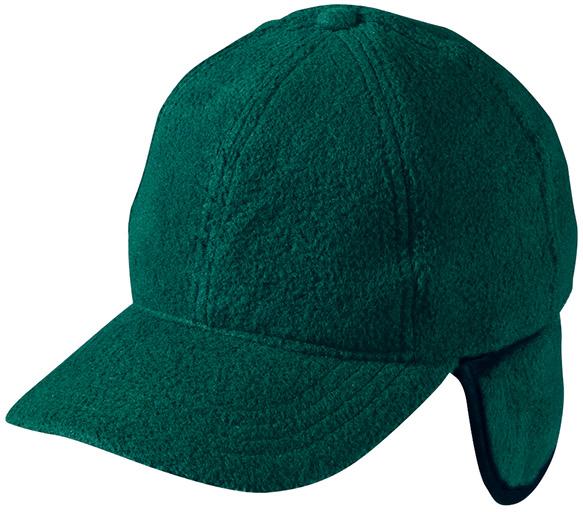 Wärmendes Fleece-Cap mit ausklappbarem Ohrenschutz