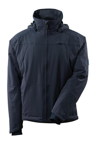 Winterjacke mit CLIMASCOT®, wasserdicht Winterjacke Größe XL, schwarzblau