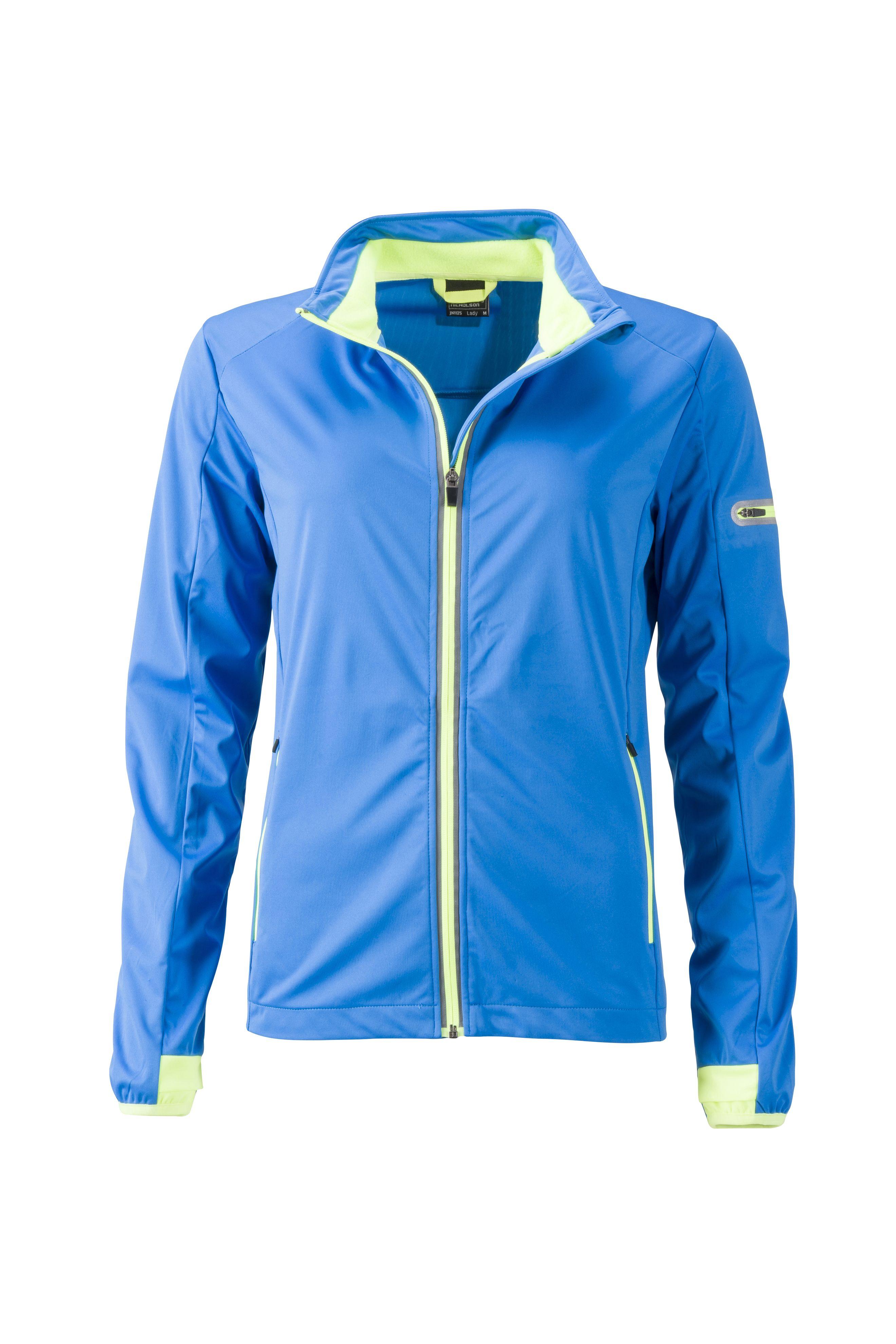Funktionelle Softshell-Jacke für Sport, Freizeit und Promotion