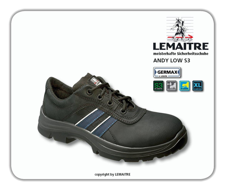 LEMAITRE Sicherheits-Halbschuh ANDY LOW S3