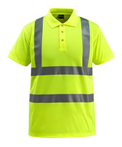 MASCOT® Bowen Polo-shirt Größe XL, hi-vis gelb
