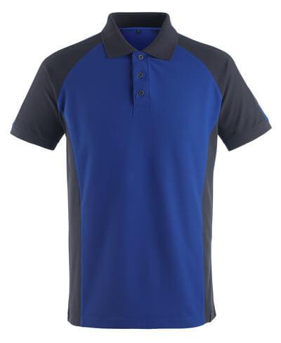 MASCOT® Bottrop Polo-shirt Größe 2XL, kornblau/schwarzblau