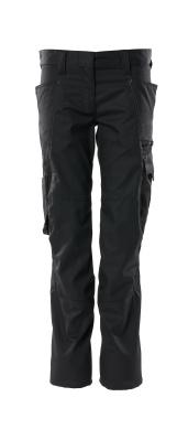 Hose, Damenpassform, Pearl, extra leicht Hose Größe 76C50, schwarz
