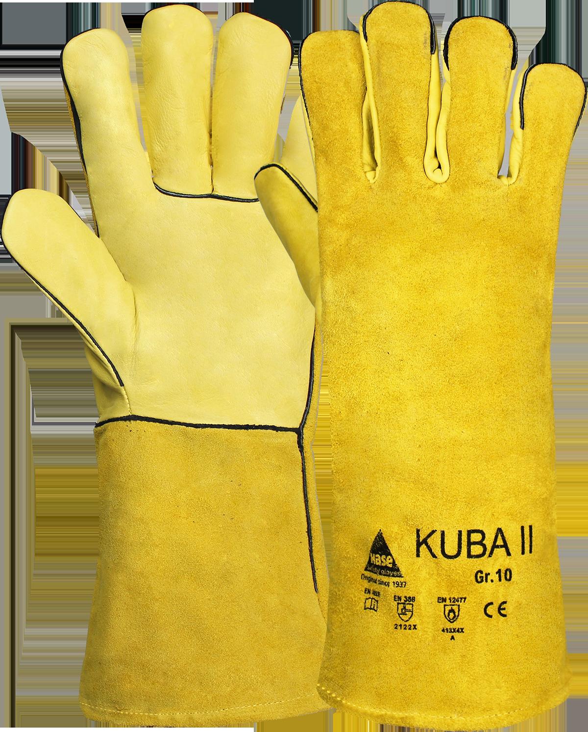 KUBA II, Schweißerhandschuh aus Rindleder, Größe 10