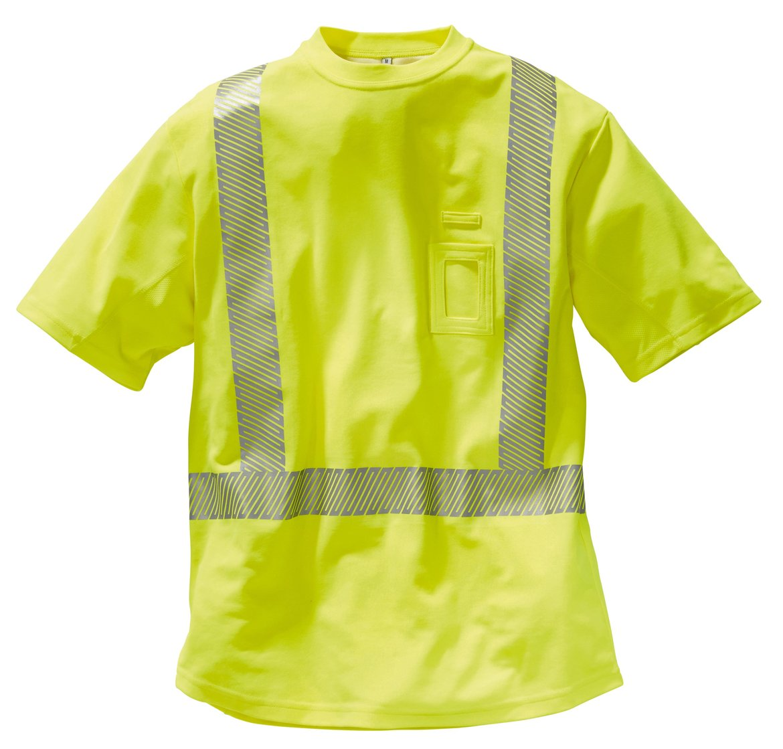 Warnschutz T-Shirt, segmentierte Reflexstreifen, EN20471-2