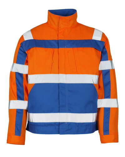 MASCOT® Cameta Arbeitsjacke Größe 3XL, hi-vis orange/kornblau