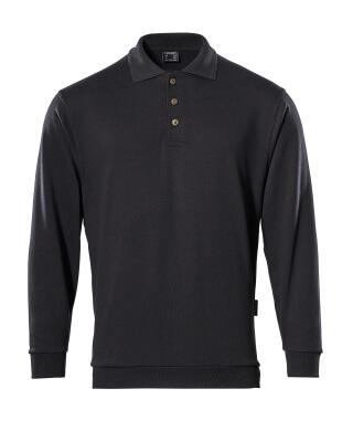 MASCOT® Trinidad Polo-sweatshirt Größe L, schwarz