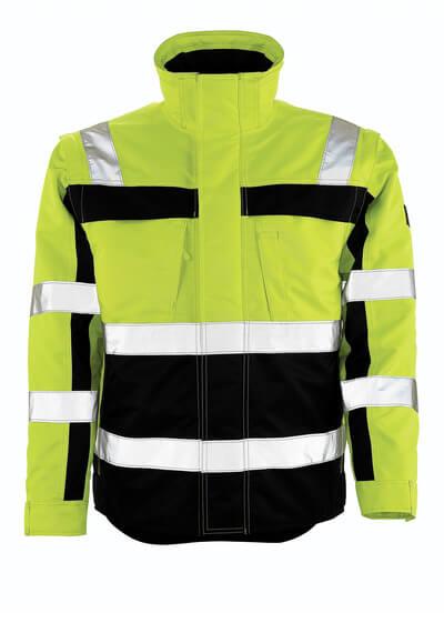 MASCOT® Loreto Winterjacke Größe 4XL, hi-vis gelb/marine
