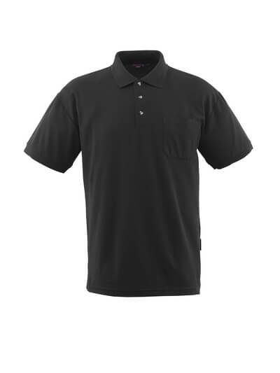 MASCOT® Borneo Polo-shirt Größe 2XL, schwarz
