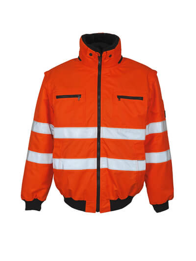 MASCOT® Kaprun Pilotjacke Größe L, hi-vis orange