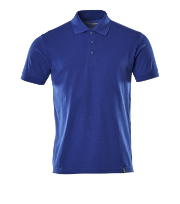 Polo-Shirt,moderne Passform, Sustainable Polo-shirt Größe L ONE, kornblau