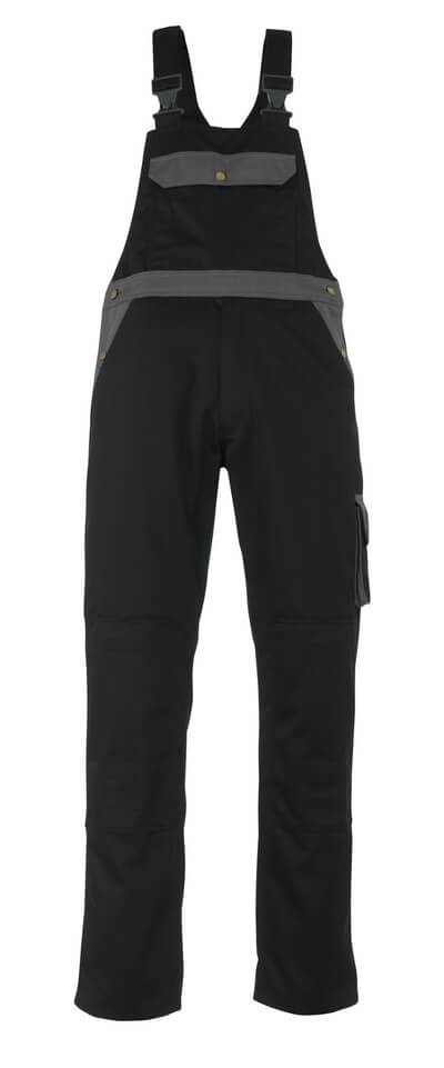 MASCOT® Milano Latzhose Größe 90C68, schwarz/anthrazit