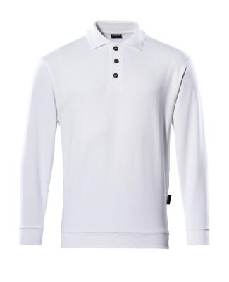 MASCOT® Trinidad Polo-sweatshirt Größe 3XL, weiss