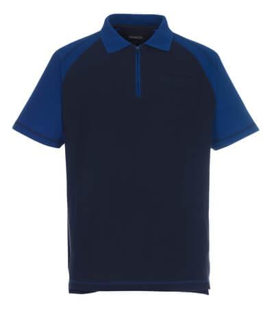 MASCOT® Bianco Polo-shirt Größe L, marine/kornblau