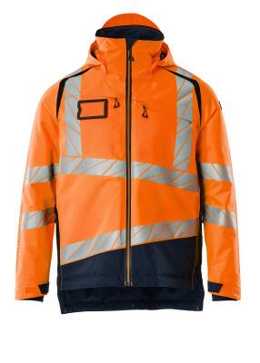 Winterjacke mit CLIMASCOT®-Futter Winterjacke Größe XL, hi-vis orange/schwarzblau