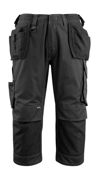 MASCOT® Lindau Handwerker-Dreiviertel-Hose Größe C48, schwarz