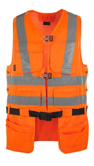 MASCOT® Yorkton Werkzeugweste Größe S, hi-vis orange