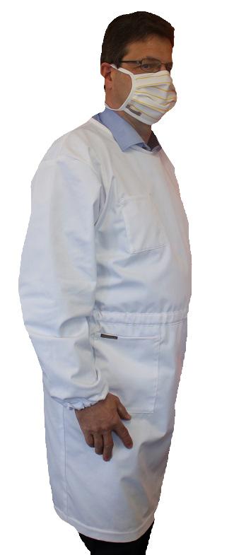 Rückenschluss-Kittel