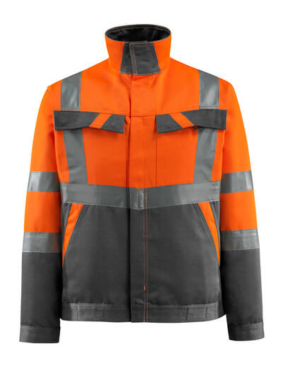 MASCOT® Forster Arbeitsjacke Größe L, hi-vis orange/dunkelanthrazit
