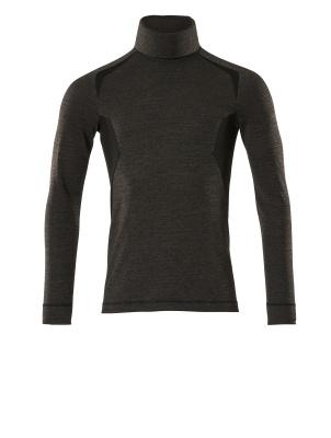 Funktionsunterhemd, geringes Gewicht Funktionsunterhemd Größe XL, dunkelanthrazit/schwarz