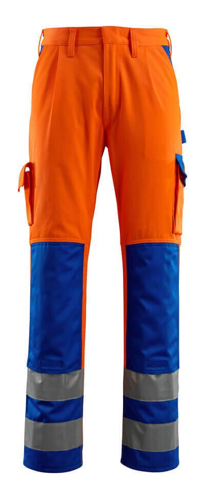 MASCOT® Olinda Hose Größe 90C48, hi-vis orange/kornblau
