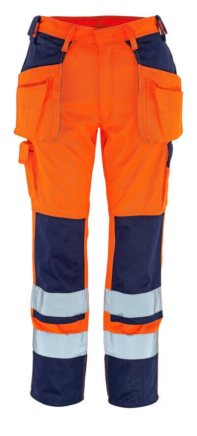 MASCOT® Almas Handwerkerhose Größe 90C46, hi-vis orange/marine