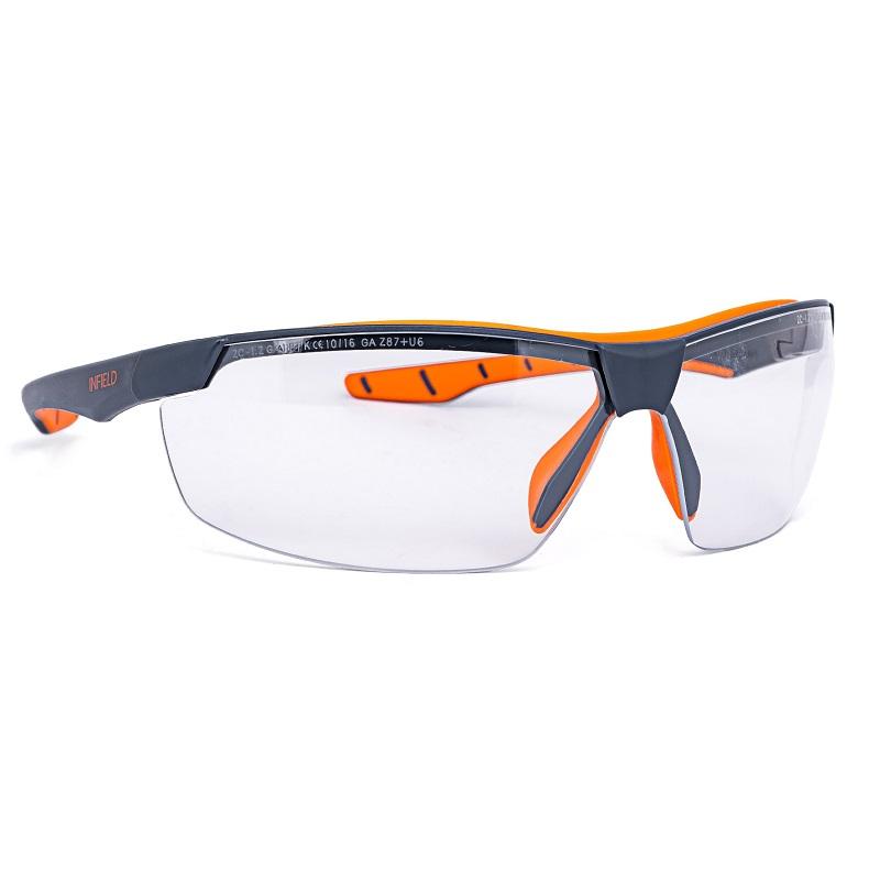 Brille Flexor Plus grau-orange