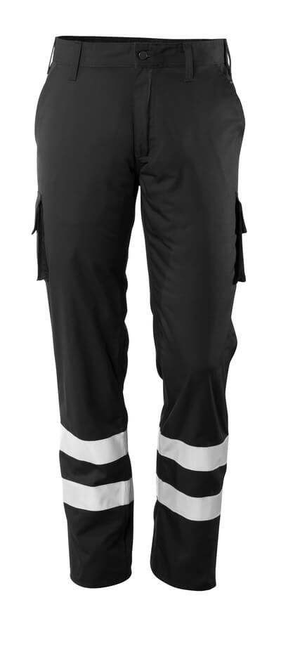 Hose, Schenkeltaschen, geringes Gewicht Servicehose Größe 82C50, schwarz