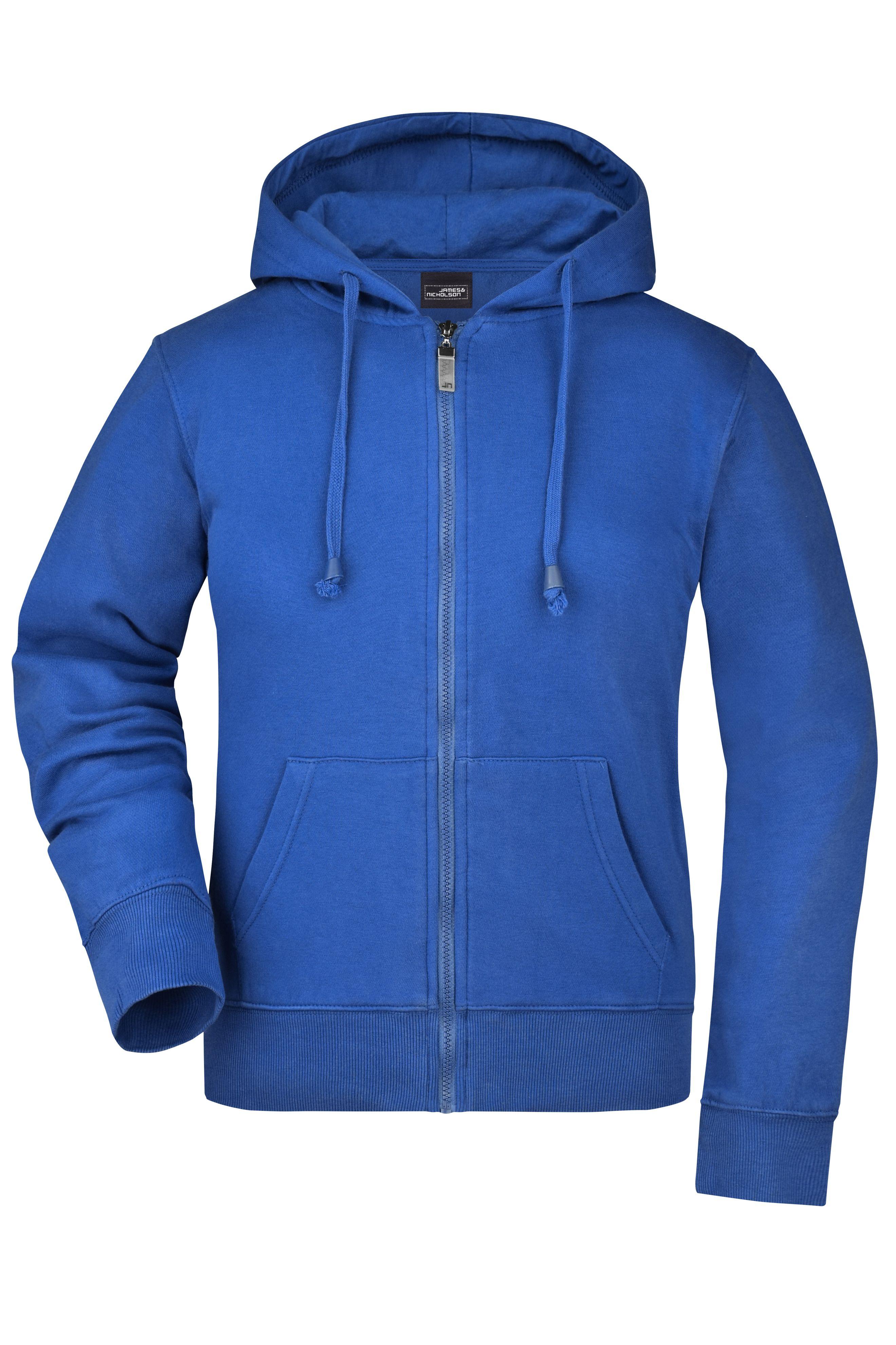 Kapuzen-Jacke aus formbeständiger Sweat-Qualität