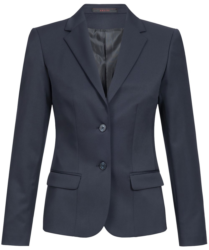 Damen-Blazer Comfort Fit Basic