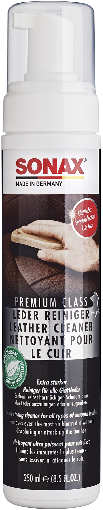 SONAX 02811410  PremiumClass LederReiniger 250 ml
