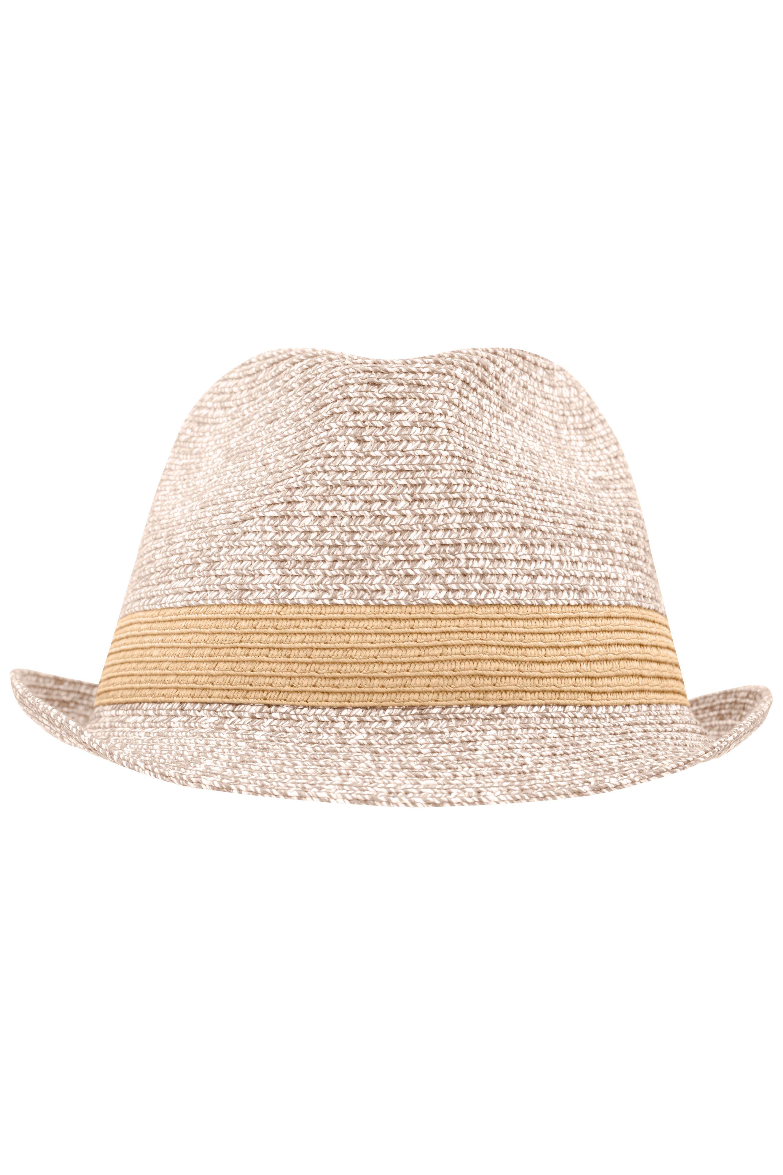 Hut in sommerlich frischen Melange-Farben