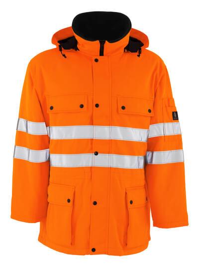 MASCOT® Quebec Parka Größe M, hi-vis orange