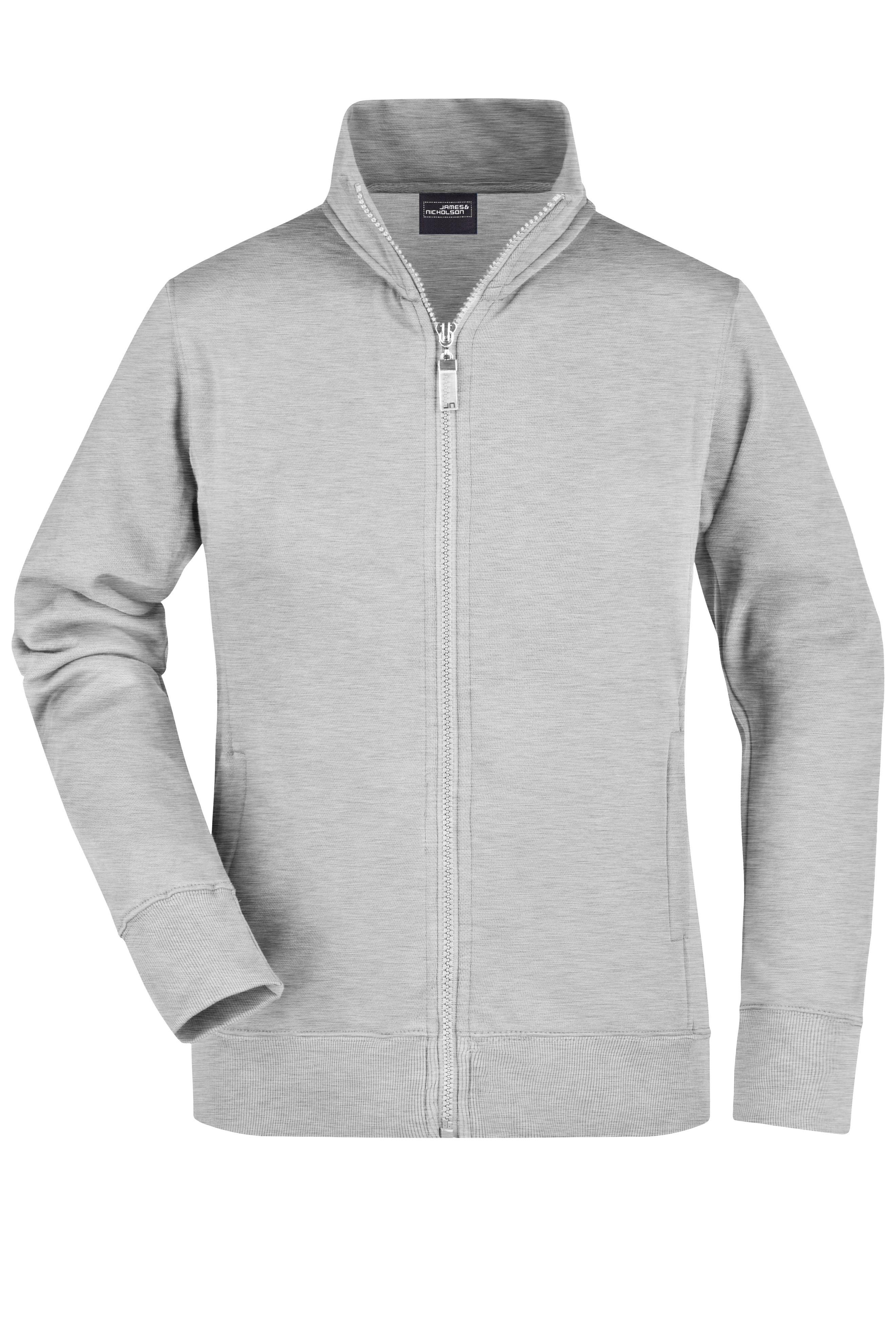 Sweat-Jacke aus formbeständiger Sweat-Qualität