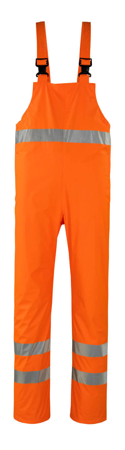 MASCOT® Hartberg Regenlatzhose Größe XL, hi-vis orange