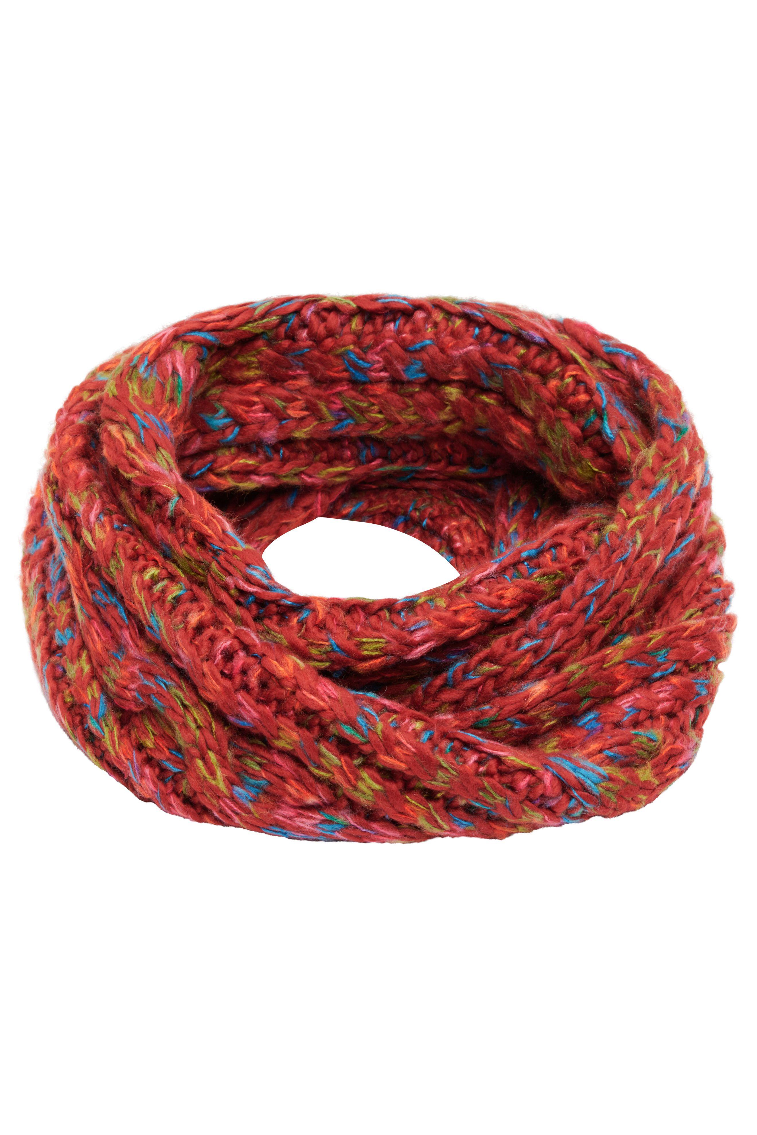 Mehrfarbiger Loop-Schal