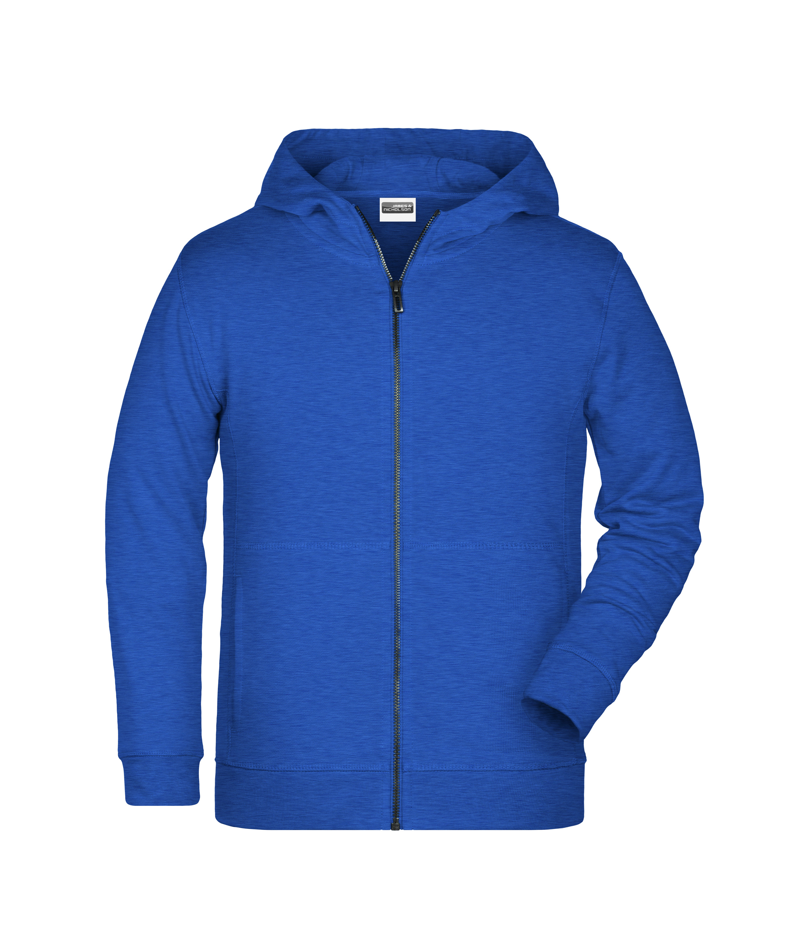 Sweat-Jacke mit Kapuze und Reißverschluss